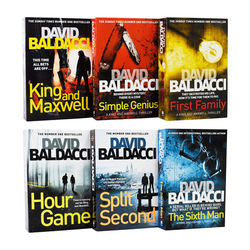 David Baldacci King And Maxwell Thriller 6 Books Collection - Adult - Paperback