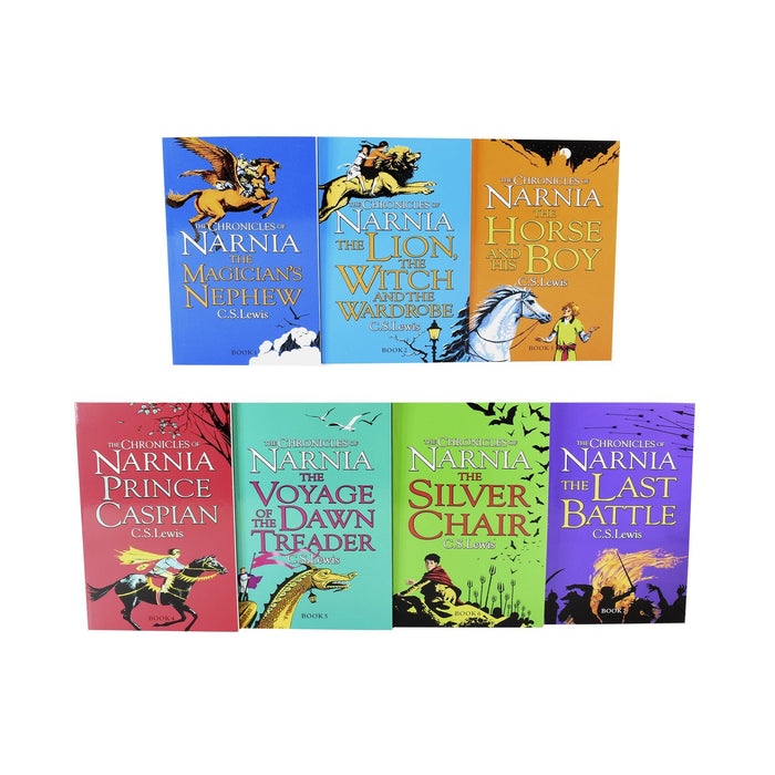 The Chronicles of Narnia 7 Book Box Set - Ages 7-9 - Paperback - C.S. Lewis
