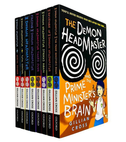 The Demon Headmaster Collection 8 Books Set - Fiction - Paperback - Gillian Cross