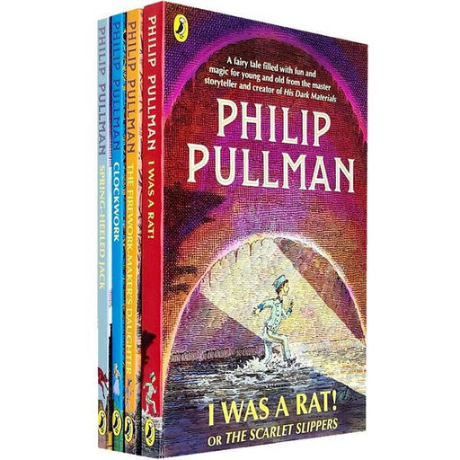 Philip Pullman The Firework-Maker's Daughter Collection 4 Books Set - Paperback - Age 9-14
