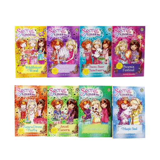 Secret Kingdom 8 Books Collection 13-20 Books set - Age 5-7 - Paperback by Roise Banks