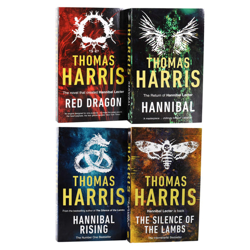 Hannibal Series 4 Book Collection - Adult - Paperback - Thomas Harris