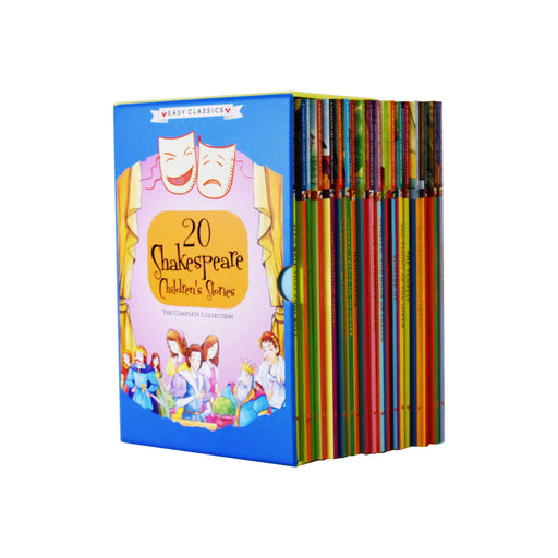 Shakespeare Children's Stories 20 Book Collection - Ages 7-9 - Paperback 7-9 Sweet Cherry Publishing