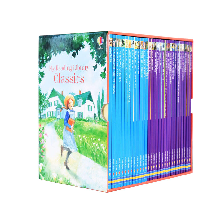 My Reading Library Classics 30 Books Box Children Collection Set - Paperback - Usborne Publishing Ltd 5-7 Usborne Publishing Ltd