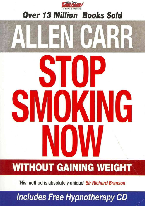 Allen Carr Stop Smoking Now - Includes Hypnotherapy CD - Self-help book - Paperback - Books2Door