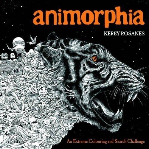 Animorphia: An Extreme Colouring and Search Challenge - Paperback - Kerby Rosanes Michael O'Mara Books LTD