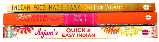 Anjum Anand 3 Cookbooks Collection - Indian Cooking - Hardback and Paperback - Books2Door