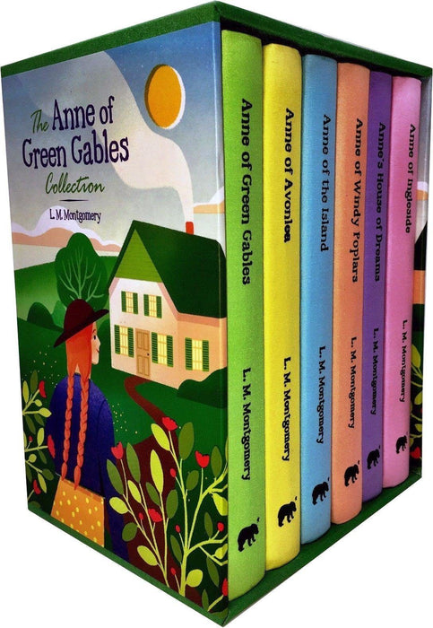 Anne of Green Gables Collection 6 Books Box Set - Novel - Hardback - L. M. Montgomery - Books2Door