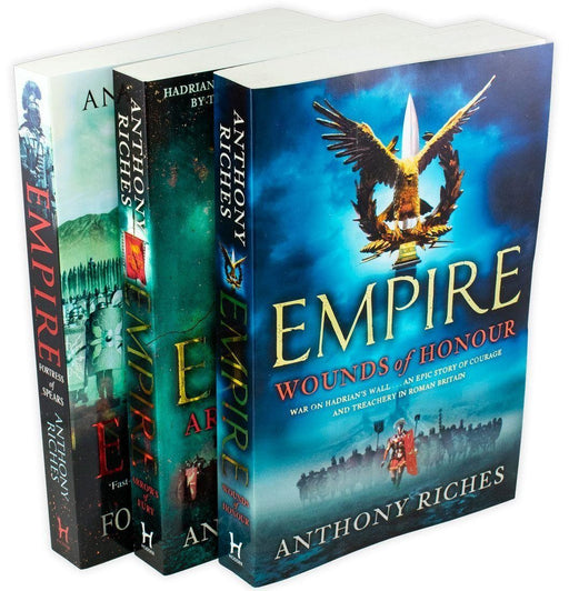 Anthony Riches Empire 3 Books Collection - Paperback - Books2Door