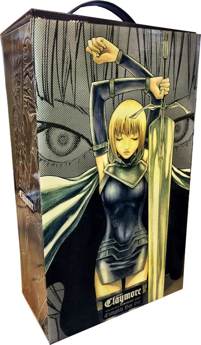 Claymore Box Set: Vol 1-27 Complete - Manga - Paperback - Norihiro Yagi - Books2Door