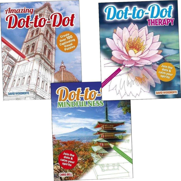 Dot-to-Dot Therapy Mindfulness and amazing 3 Books Collection - Paperback - Arcturus Publishing Arcturus Publishing