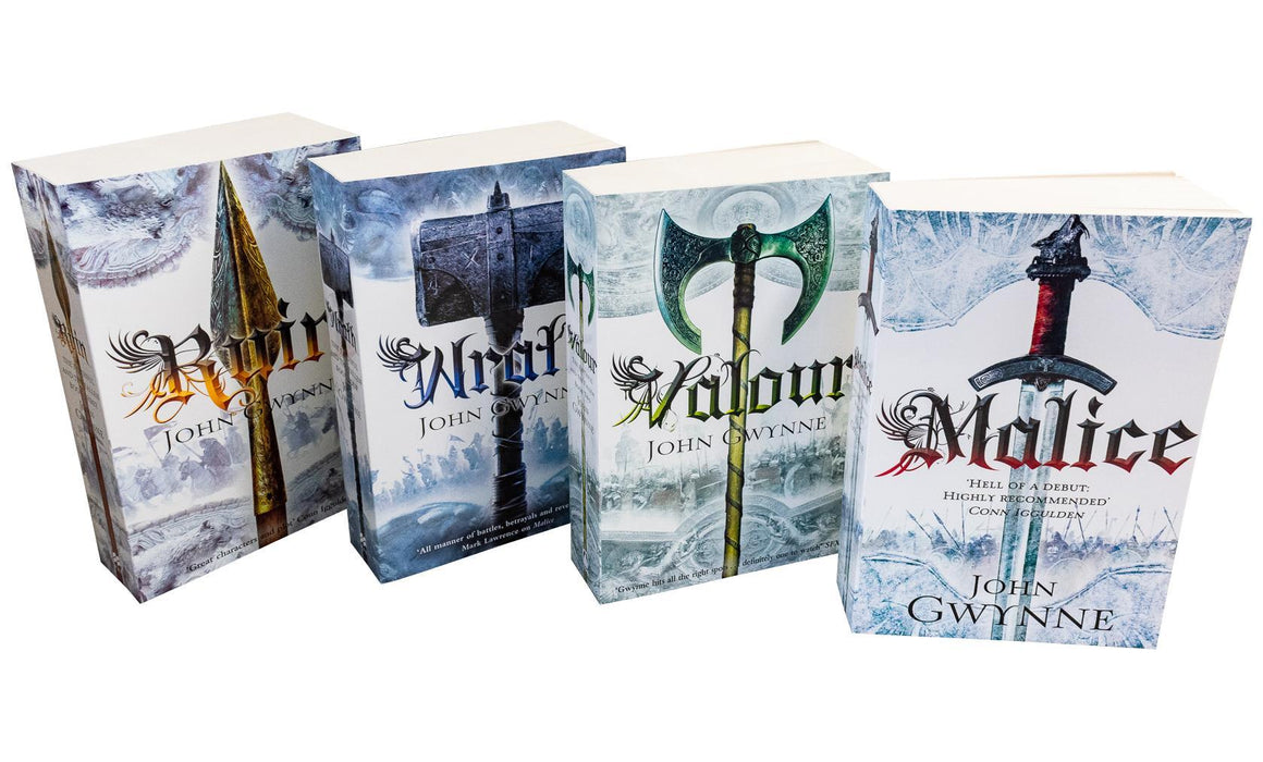 Faithful and the Fallen Collection 4 Books Set Ruin, Valour, Malice - Fantasy -  Paperback - John Gwynne - Books2Door