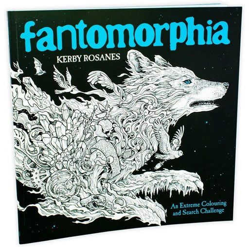 Fantomorphia: An Extreme Colouring and Search Challenge - Paperback - Kerby Rosanes LOM ART (Michael O'Mara)