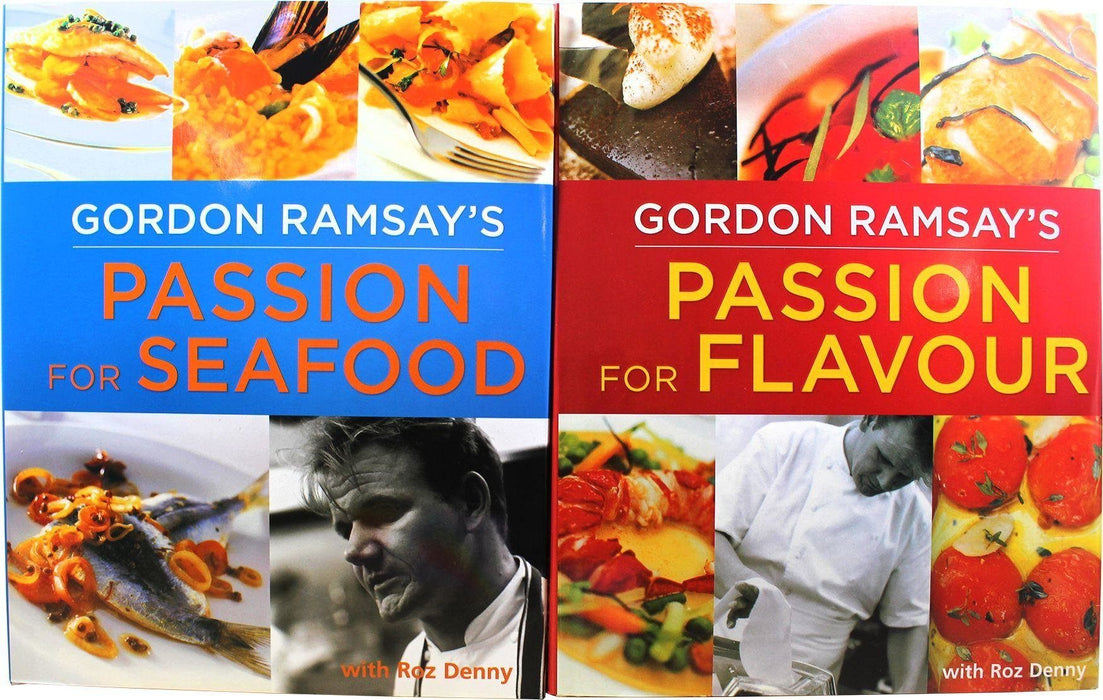Gordon Ramsay - Passion for Flavour and Seafood 2 Books - Books2Door