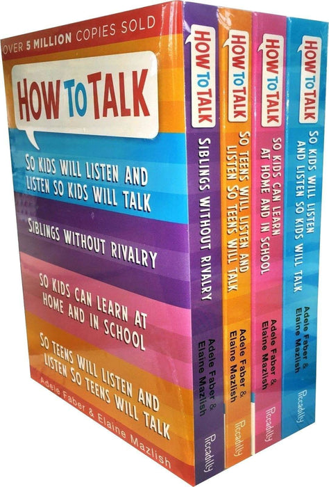 How to Talk So Kids and Teens Will Listen 4 Books Set - Books2Door