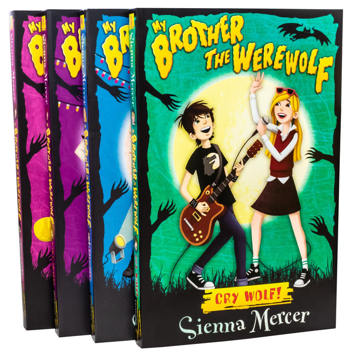 My Brother the Werewolf Collection 4 Books Set - Ages 9-12 - Paperback - Sienna Mercer - Books2Door