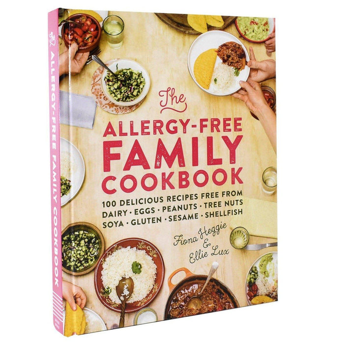 Non Fiction - Allergy Free Family Cookbook - Non Fiction - Book Harback By Fiona Heggie And Ellie Lux