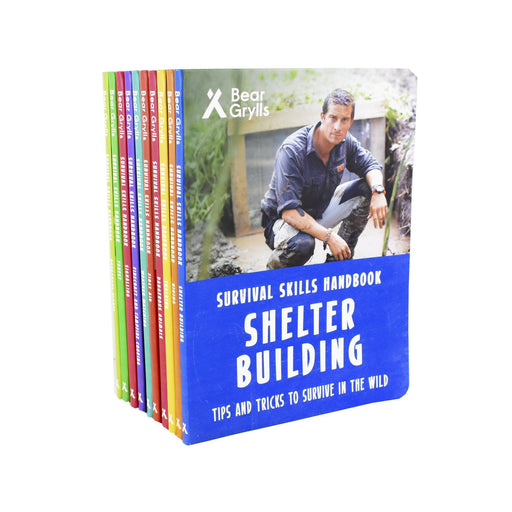 Non Fiction - Bear Grylls Survival Skills Handbook Collection Series 10 Books - Hardback