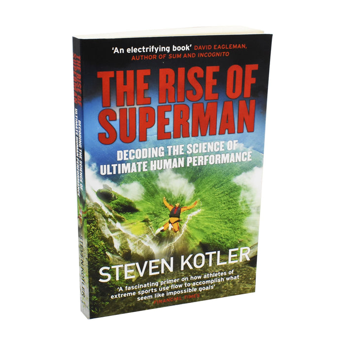 The Rise of Superman: Decoding the Science of Ultimate Human Performance Book - Paperback By - Steven Kotler Non Fiction Quercus