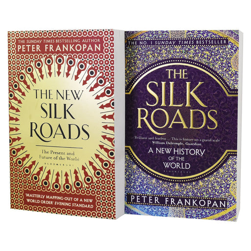 Non Fiction - The Silk Road And New Silk Road 2 Book - Non Fiction - Set Paperback By Peter Frankopan
