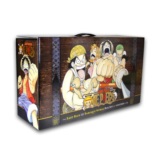 One Piece The Complete Collection Box Set 1-23 Books - Manga - Paperback - Eiichiro Oda - Books2Door