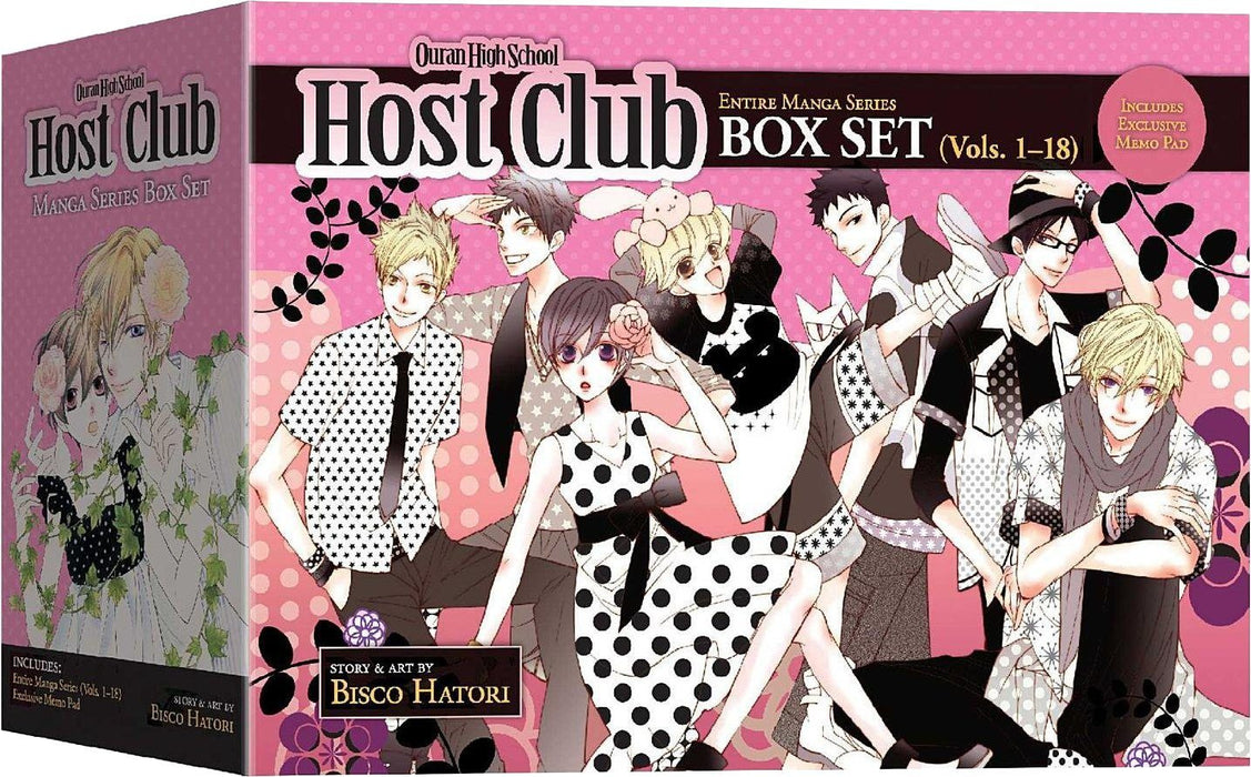 Ouran High School Host Club Box Set:1-18 - Manga - Paperback - Bisco Hatori - Books2Door