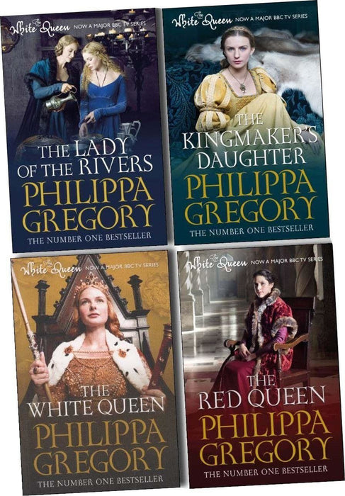 Philippa Gregory Collection 4 Books Set - Historical Fiction - Paperback - Books2Door