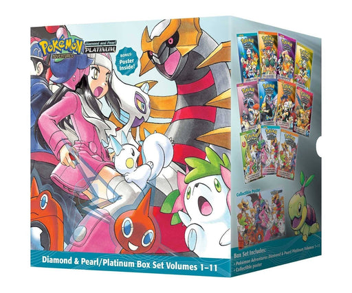 Pokemon Adventures Diamond & Pearl Platinum Box Set 1-11 - Books2Door