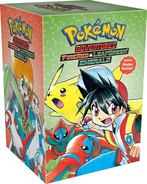Pokemon Adventures FireRed and LeafGreen Emerald Collection 7 Books Box Set - Manga -  Paperback - Hidenori Kusaka - Books2Door