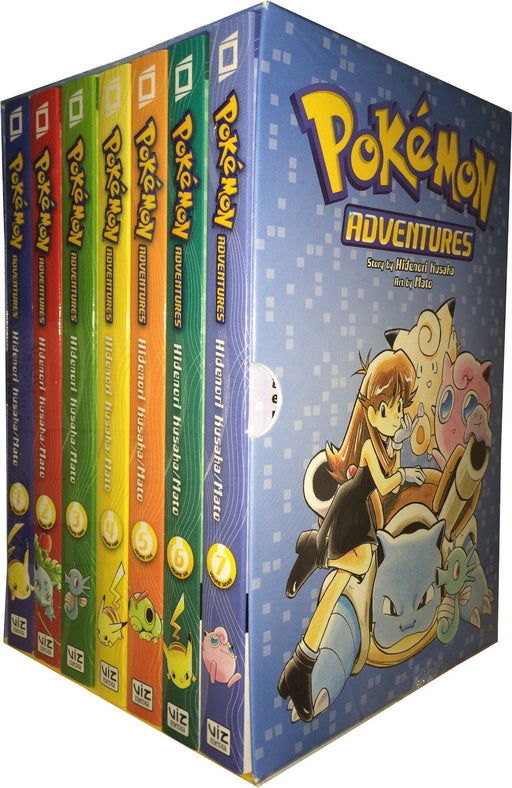 Pokemon Adventures Red and Blue Box Set Volumes 1-7 - Fantasy Fiction - Paperback - Hidenori Kusaka - Books2Door