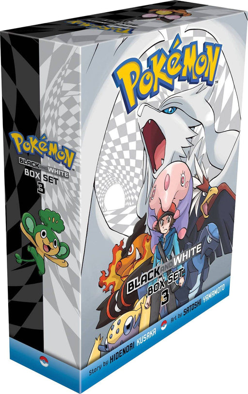 Pokemon Black & White Box Set: Vol 15-20 - Fantasy Fiction - Paperback - Hidenori Kusaka - Books2Door