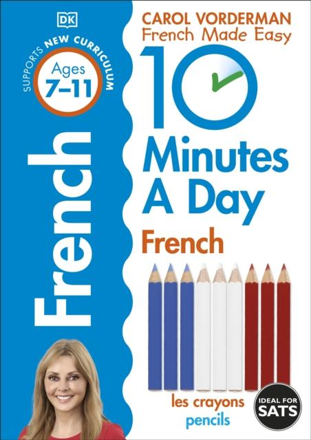 Popular Titles - 10 Minutes A Day French Ages 7-11 Key Stage 2