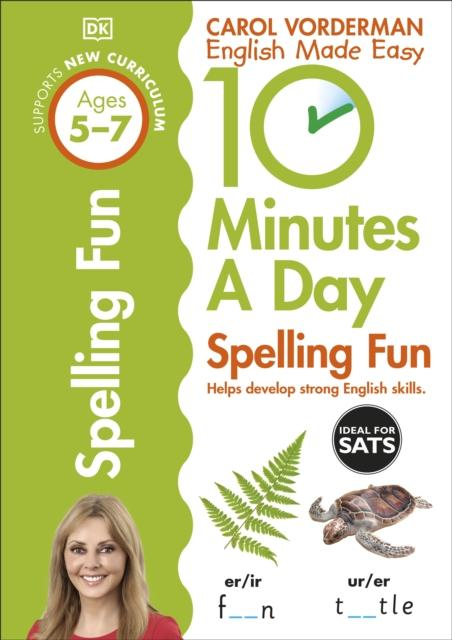 Popular Titles - 10 Minutes A Day Spelling Fun Ages 5-7 Key Stage 1