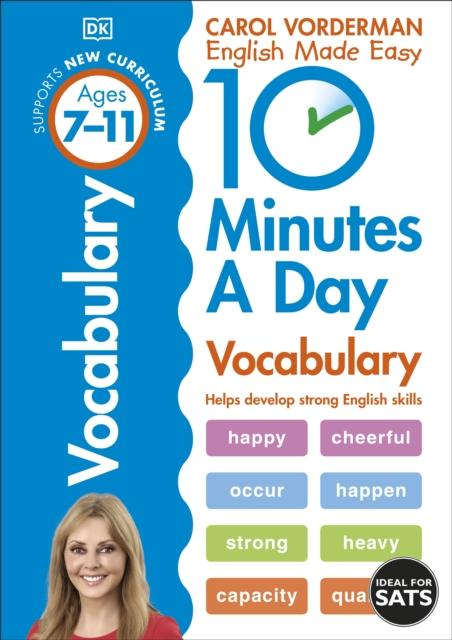 Popular Titles - 10 Minutes A Day Vocabulary Ages 7-11 Key Stage 2