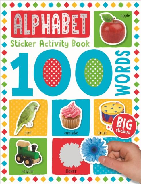 Popular Titles - 100 Alphabet Words Sticker Activity