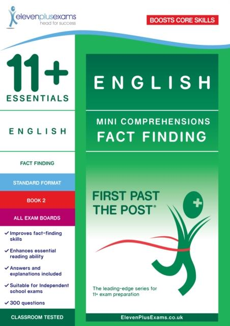 Popular Titles - 11+ Essentials English: Mini-Comprehensions Fact-Finding Book 1