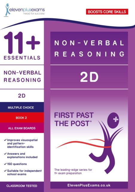 11+ Essentials Non-verbal Reasoning 2D Book 2 Popular Titles Eleven Plus Exams