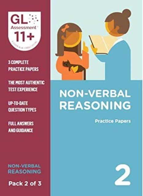 Popular Titles - 11+ Practice Papers Non-Verbal Reasoning Pack 2 (Multiple Choice)