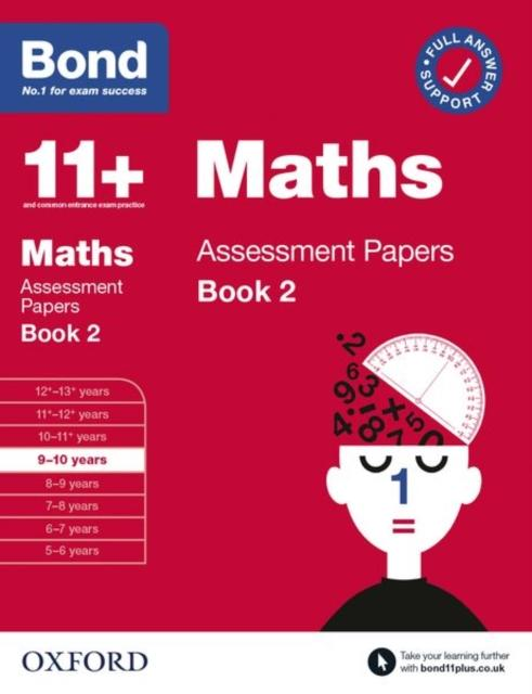 Popular Titles - Bond 11+ Maths Assessment Papers 9-10 Years Book 2