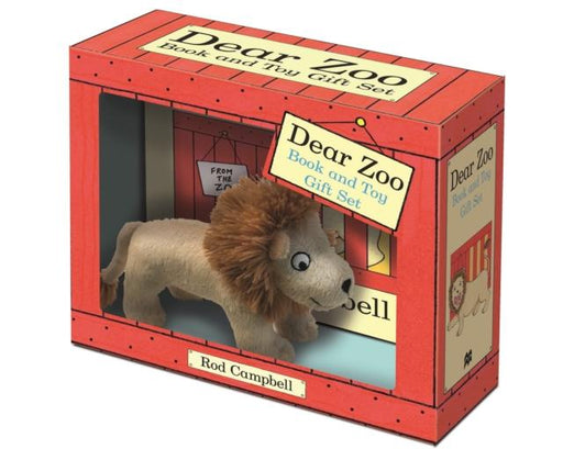 Popular Titles - Dear Zoo Book And Toy Gift Set : Lion
