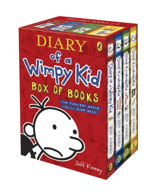 Popular Titles - Diary Of A Wimpy Kid Box Of Books