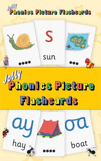 Popular Titles - Jolly Phonics Picture Flash Cards : In Precursive Letters