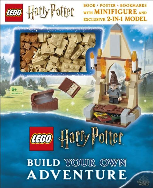 LEGO Harry Potter Build Your Own Adventure : With LEGO Harry Potter Minifigure and Exclusive Model Popular Titles Dorling Kindersley Ltd