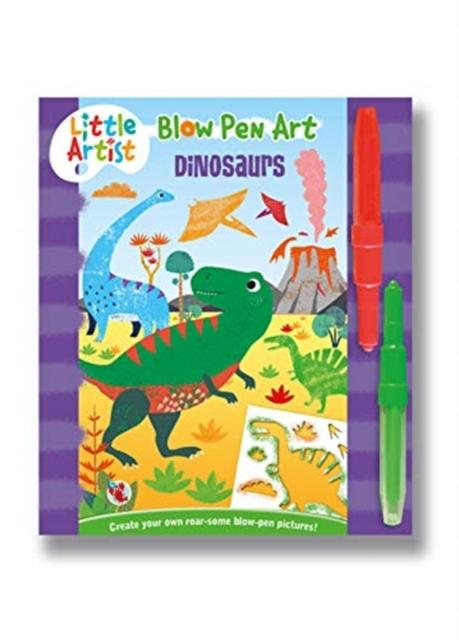 Popular Titles - LITTLE ARTIST BLOW PEN ART DINOSAURS