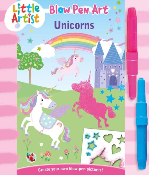 Popular Titles - LITTLE ARTIST BLOW PEN ART UNICORNS