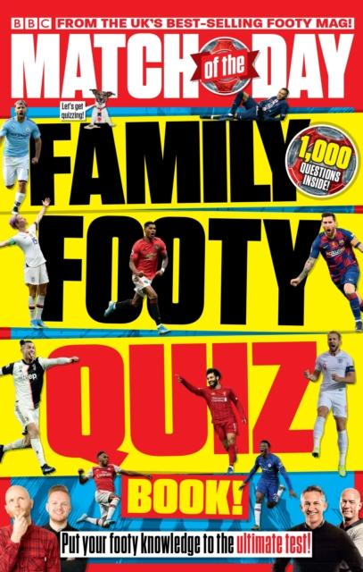 Match of the Day Family Footy Quiz Book Popular Titles Ebury Publishing