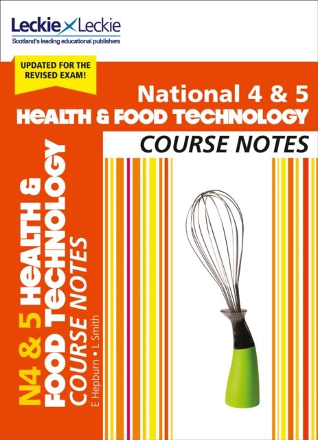 Popular Titles - National 4/5 Health And Food Technology Course Notes : For Curriculum For Excellence Sqa Exams