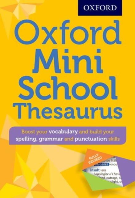 Popular Titles - Oxford Mini School Thesaurus