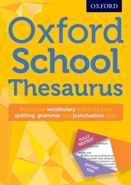 Oxford School Thesaurus Popular Titles Oxford University Press