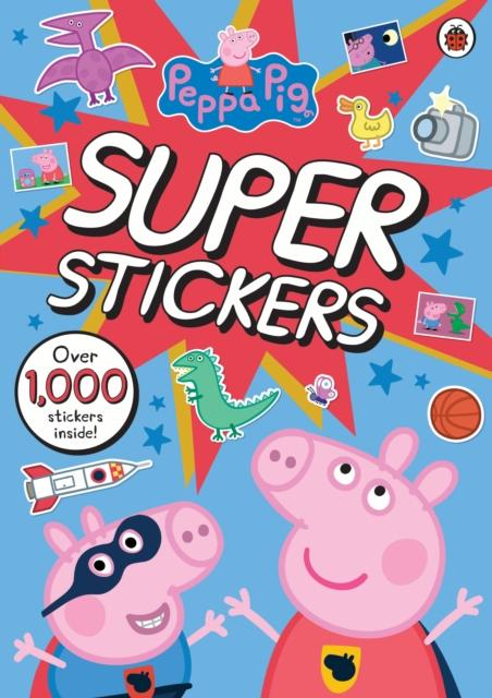 Popular Titles - Peppa Pig Super Stickers Activity Book